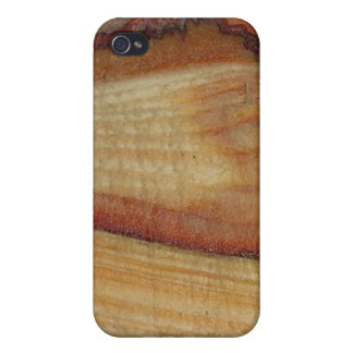 Faux wood Grain Covers For iPhone 4