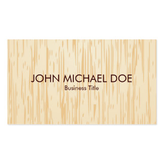 Faux Wood Texture Woodworking Professional Artisan Pack Of Standard Business Cards