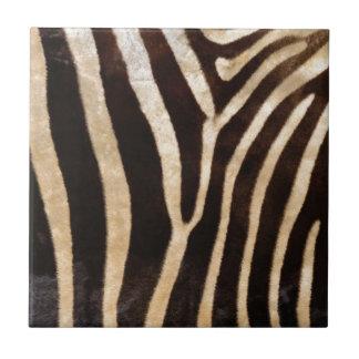 faux zebra print tile