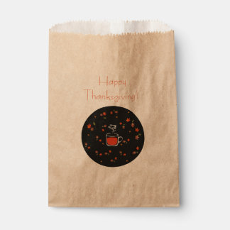 Favor bag  - thanksgiving