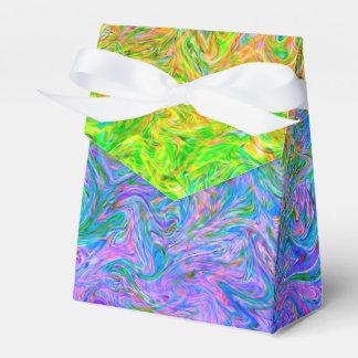 Favor Box Fluid Colors