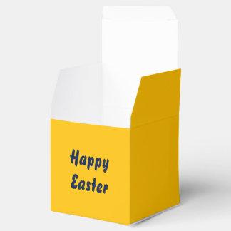 Favor Box uni Yellow
