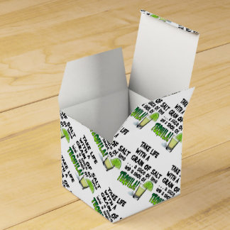 FAVOR BOXES - LIFE, LIME, SALT, TEQUILA!