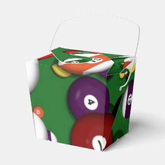 Favor/Gift Box - Billiards