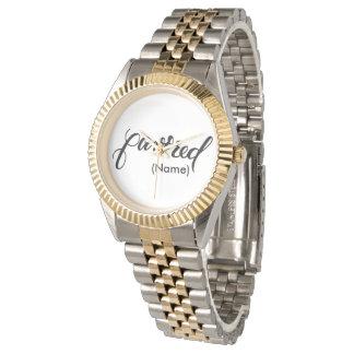 Favored Custom Wristwatch