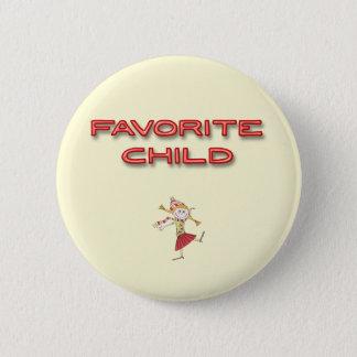 Favorite Child 6 Cm Round Badge