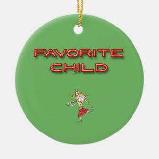 Favorite Child Christmas Ornament