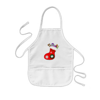 Favorite Christmas Gifts Kids Apron