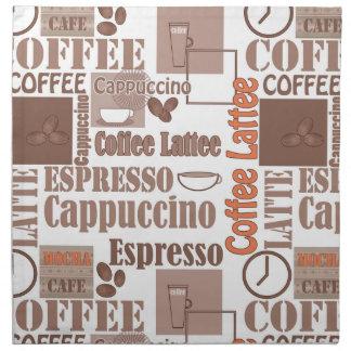 Favorite coffee napkin