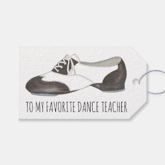 Favorite Dance Teacher Oxford Tap Shoe Dancer