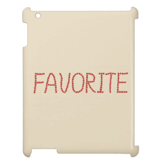 Favorite Glossy iPad Case