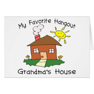 Favorite Hangout Grandma s House Cards