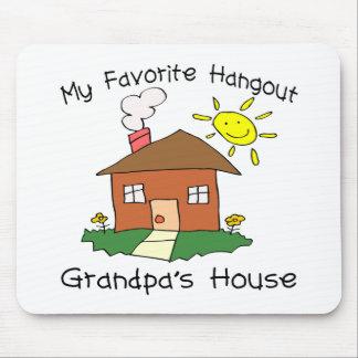 Favorite Hangout Grandpa's House Mouse Mat