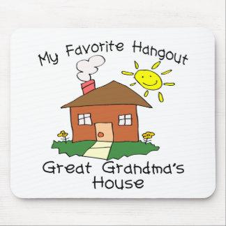 Favorite Hangout Great Grandma's House Mouse Mat