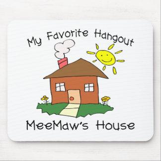 Favorite Hangout MeeMaw's House Mouse Mat