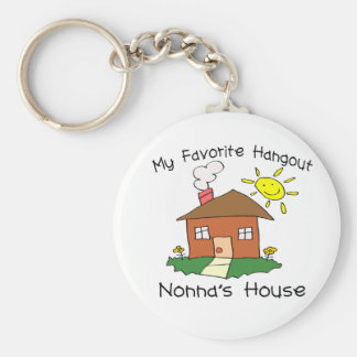 Favorite Hangout Nonna's House Key Ring