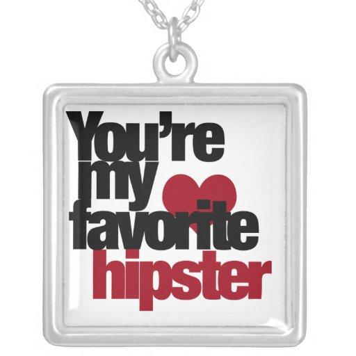 Favorite Hipster Custom Jewelry