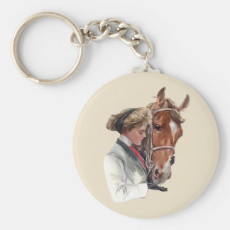 Favorite Horse Key Ring