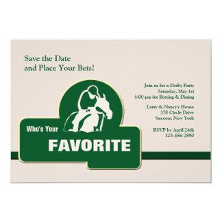 Favorite Horse Racing Invitation