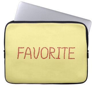 Favorite Laptop Sleeve 13''