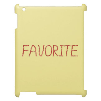 Favorite Matte iPad Case