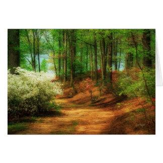 Favorite Path - Blank Verse Greeting Card
