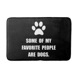 Favorite People Dogs Bath Mat