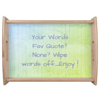 Favorite-Quote-Pastel-Wood_TEMPLATE-Wainscoting_RW Serving Tray