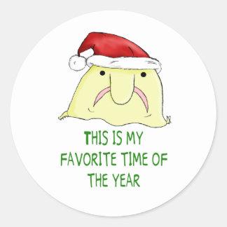 Favorite Season Round Sticker