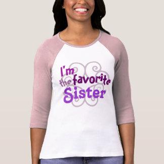 Favorite Sister T Shirt