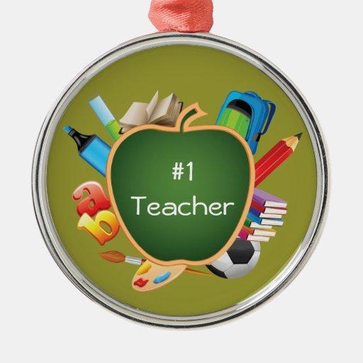 Favorite Teacher Best Teacher Ornament