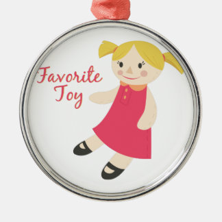 Favorite Toy Christmas Ornament