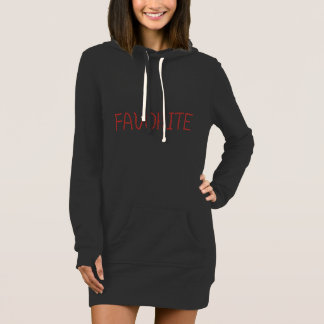 Favorite Women's Hoodie Dress