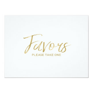 """""""Favors"""" Wedding Sign 