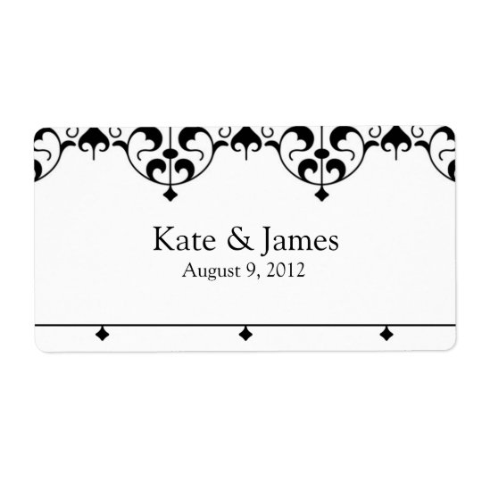 Favour Labels - KATE Collection