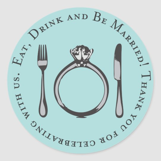 Favour Sticker | Eat, Drink and Be Married
