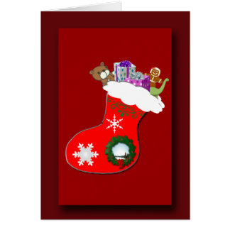 Favourite Christmas Gifts Greeting Card