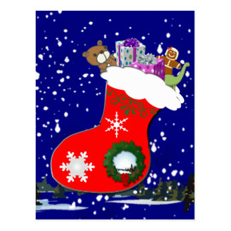 Favourite Christmas Gifts Postcard