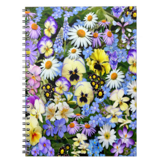 Favourite Flowers Notebook