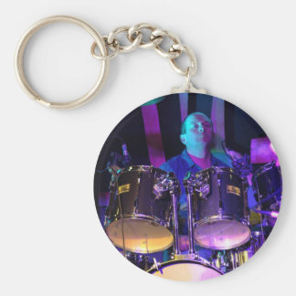 Favourite Image Print Basic Round Button Key Ring