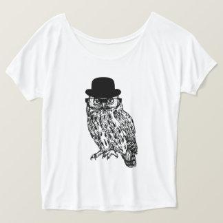 """Favourite shirt """"GENTLEMAN OWL """""""