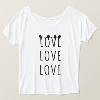 "Favourite shirt ""LOVE LOVE LOVE """