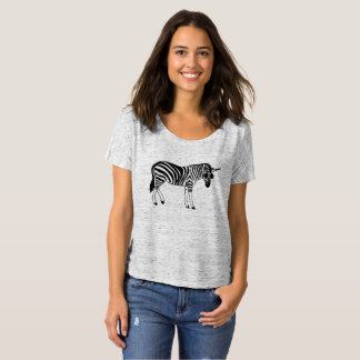 "Favourite shirt ""UNICORN ZEBRA """
