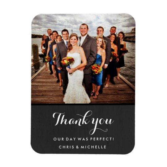 Favourite Wedding Photo Thank You Magnet