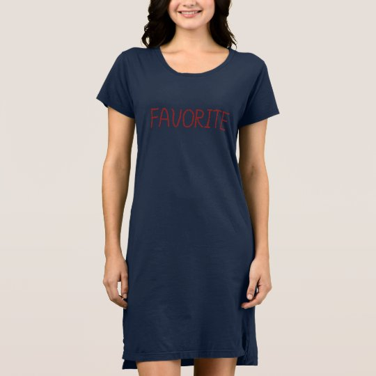Favourite Women's T-Shirt Dress
