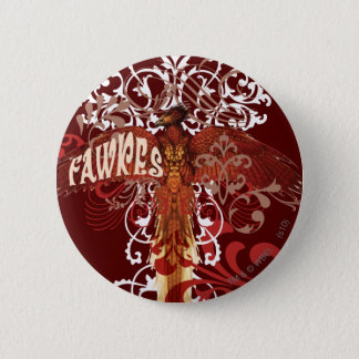 Fawkes Spread Wings 6 Cm Round Badge
