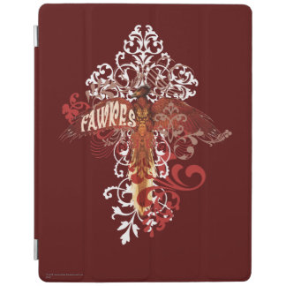 Fawkes Spread Wings iPad Cover