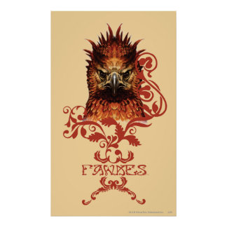Fawkes Staring Poster