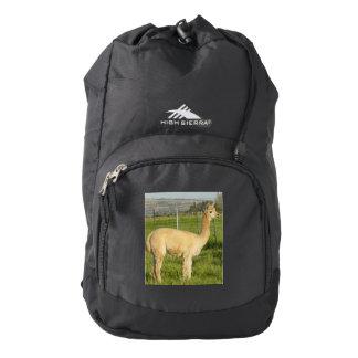 Fawn Alpaca Backpack