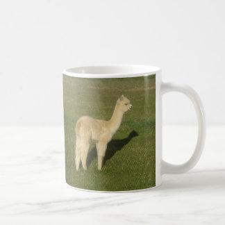 Fawn alpaca coffee mug